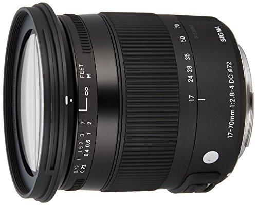 Sigma 884101 F2.8-4 Contemporary DC Macro OS HSM 17-70mm Zoom Lens for Canon EF-S Cameras - International Version (No Warranty)