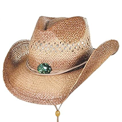 Conner Hats Womens Mojave Western Raffia Hat