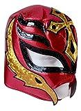 DiscoverMas Mascara de Luchador | Lucha Libre | Red & Gold Mexican Wrestling Mask