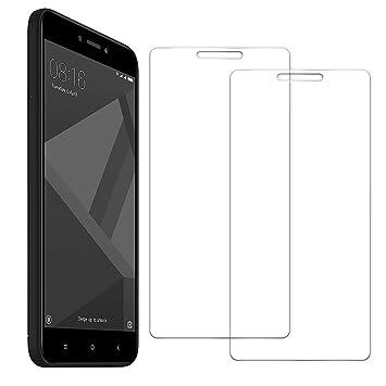 [2 Unidades] Protector de Pantalla Xiaomi Redmi 4X, Senisttech 0.33mm Ultra Transparencia