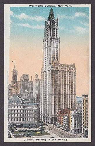 Woolworth Building New York NY postcard 1910s ()