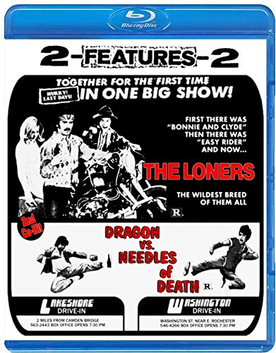The Loners + Dragon Vs Needles Of Death Drive-in Double Feature #7