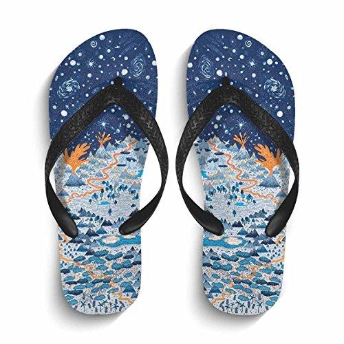 Thong Slim Summer Beach Flop Flip Outdoor Carl Sandal Non Slip Black Eric Footwear Slippers Casual 8qzRCnx