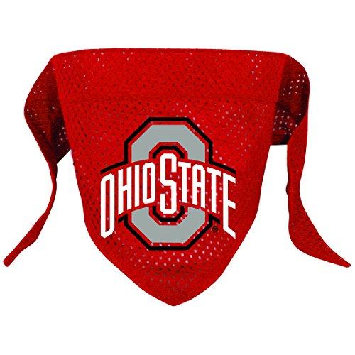 Hunter Mfg. LLP NCAA Ohio State Buckeyes Pet Bandana, Team Color, Large