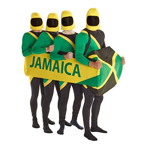 Morph Men's Jamaican Bobsled Costume, One