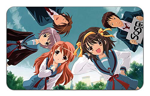 (Disappearance of Haruhi Suzumiya Anime Stylish Playmat Mousepad (24 x 14) inches [MP]Disappearance of Haruhi-3)