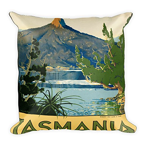 vintage-poster-tasmania-square-pillow-case-w-stuffing