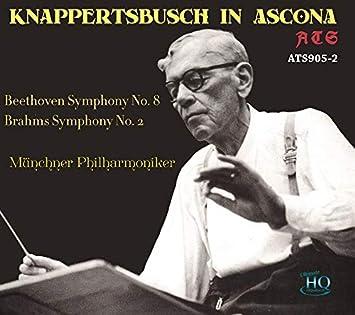 クナッパーツブッシュ指揮ミュンヘンフィル ベートーヴェン:交響曲第8番、ブラームス:交響曲第2番