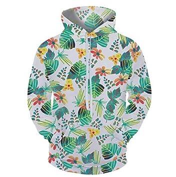 WEIYI Sudaderas diseño Colorido Sudadera con Capucha Hoodie 3D Capa Casual Estilo Streetwear Moda Hombre: Amazon.es: Deportes y aire libre