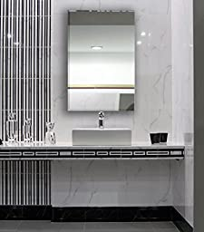 Large Simple Rectangular Streamlined 1 Inch Beveled Wall Mirror | Premium Silver Backed Rectangle Mirrored Glass Panel Vanity, Bedroom, or Bathroom Hangs Horizontal & Vertical Frameless(24"|225|256|?|46111a0c4f6cabc4ddfea43474829d16|False|UNLIKELY|0.31411758065223694