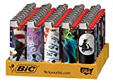 BIC Full Size Limited Special Edition Disposable Lighters...