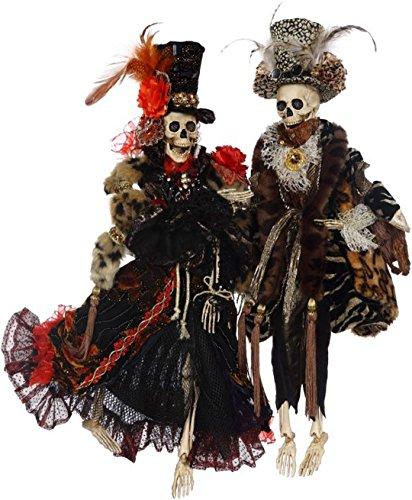 Mark Roberts Halloween 5168172 Mr & Mrs Couture Skeleton Med 21