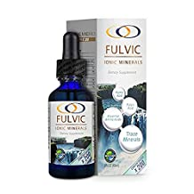 Fulvic Ionic Minerals X200 (2 ounces) by Optimally Organic | Fulvic Ionic Minerals | Improves Nutrient Absorption and Energy Levels, 3.5 Month Supply!