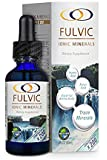 Fulvic Ionic Minerals X200 (2oz) by Optimally Organic | Fulvic Minerals, Fulvic Humic Acid, Fulvic Ionic Minerals | Improves Nutrient Absorption and Energy Levels, 3.5 Month Supply!