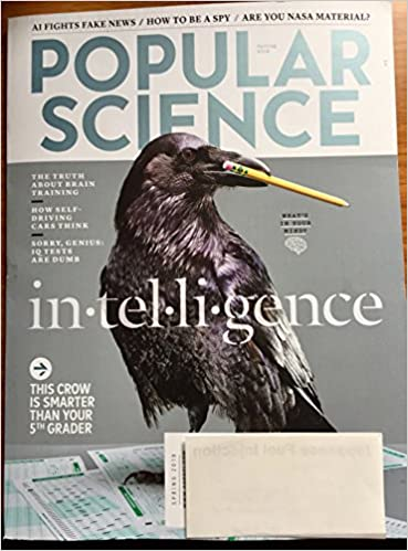 Popular Science Spring 2018 Intelligence Amazon Com Books