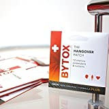 Bytox - The Hangover Patch 10 Pack - 12 Organic All-Natural Ingredients with Vitamins Nutrients and Antioxidants Discount
