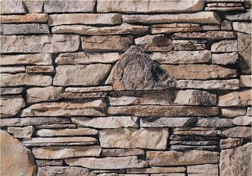 Cultured Manufactured Stone Veneer Wall Siding  Southern Ledge  Clinton