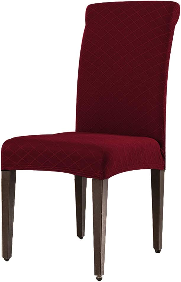 Gizayen Stretch Chair Covers Geometric Print Dining Chair Slipcovers Removable Washable Chairs Protector for Kitchen Room Hotel for Hotel Dining Room Ceremony Banquet Wedding Party