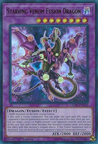 Amazon.com: YuGiOh 1st ED starving Venom Fusion Dragon ledd ...