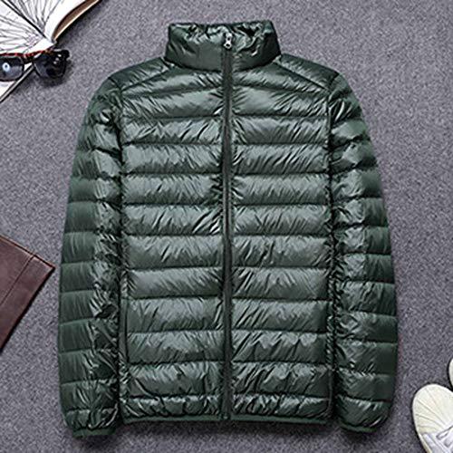 Cx store Verde Uomini Giù Inverno Caldo Giacca Leggero Packable Puffer Cappotto rrWvdz