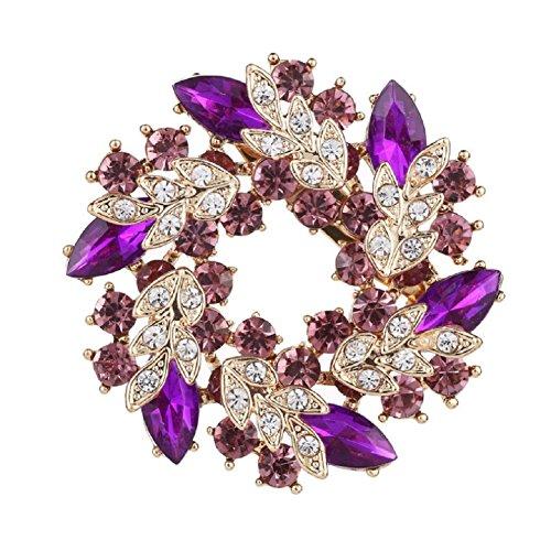 Daisy Jewelry Vintage Womens Girls Bridal Wedding Bouquet Flower Wreath Brooch Pins For Sale