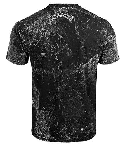 T W Church Pour Omen053km shirt Allprint Hommes Hardcore Of Satan Amenomen qPSFff