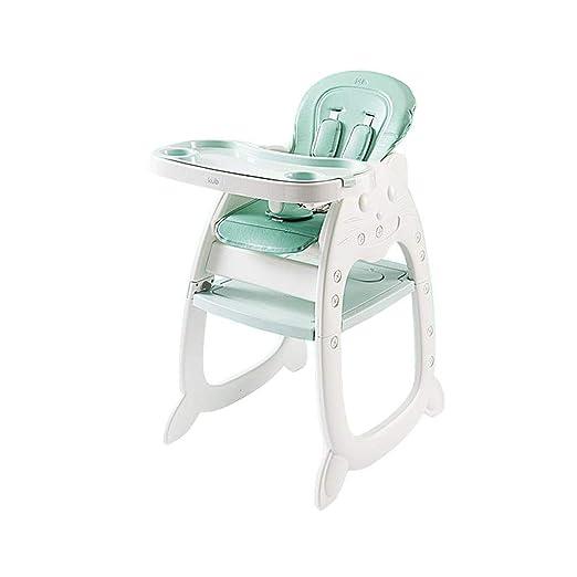 Trona para bebé, mesa de estudio extraíble ajustable Silla Silla ...