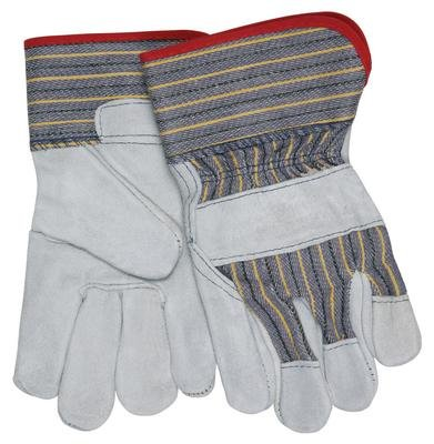 (1400S - Large - Plasticized Cuff Gloves, Select Grade, MCR Safety - Pack of 12)