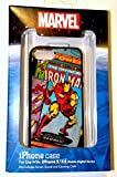 iphone 5 case disney world - Disney D-tech World WDW Parks Authentic Marvel Comics Ironman Iphone 5 5s Phone Hard Case & Screen Guard Cleaning Cloth