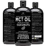 Premium MCT Oil from Non-GMO Coconuts - 32oz. Keto, Paleo, Gluten Free and Vegan