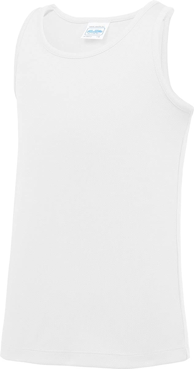 AWDis Cool Kids Sports Gym Vest Running Casual Sleeveless Tank Top XL-XS CreativeMinds UK