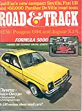 img - for ROAD AND TRACK MAGAZINE OCTOBER 1975 FORMULA 5000 RACING! (27) book / textbook / text book
