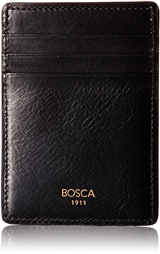 Bosca Men's Dolce Collection - Deluxe Front Pocket Wallet (Mens Deluxe Front Pocket Wallet)