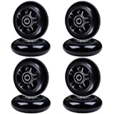 AOWISH 8-Pack Inline Skate Wheels 85A (Available in Sizes 70mm & 72mm & 76mm) Inline Skates Replacement Wheel with Bearings ABEC-9