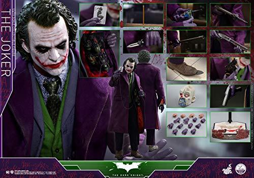 Hot Toys 1/4 DC The Dark Knight Batman QS010 The Joker 48CM