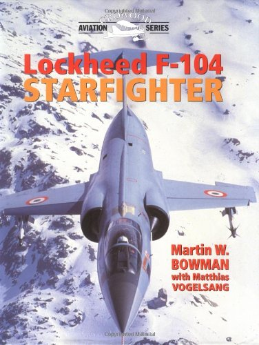 Lockheed F-104 Starfighter (Crowood Aviation Series) for sale  Delivered anywhere in USA