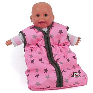 Amazon.es: Bayer Chic 2000 792 83 muñecas, Saco de Dormir para bebé muñecas, Estrellas Gris: Juguetes y juegos