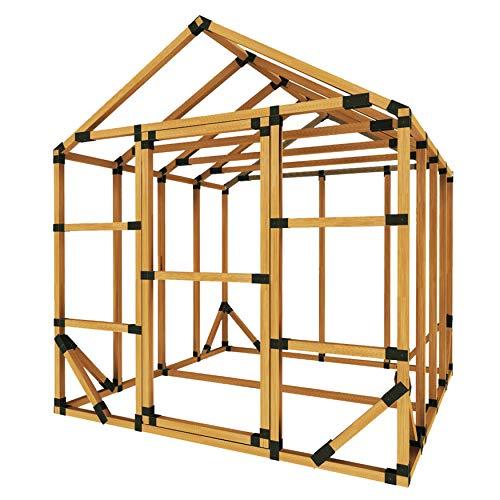 8X8 E-Z Frame Standard Greenhouse Kit