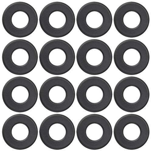Brybelly Universal Black Nylon Washers for Standard Foosball Tables (Pack of (Foosball Table Bearings)