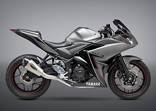 Yoshimura Alpha T Full System Exhaust (Stainless Steel/Stainless Steel/Carbon Fiber/Works Finish) ()