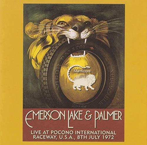 Live At Pocono International Raceway, Long Pond, Pa  9Th July 1972 (Rsd) (Live Palmer And Emerson Lake)