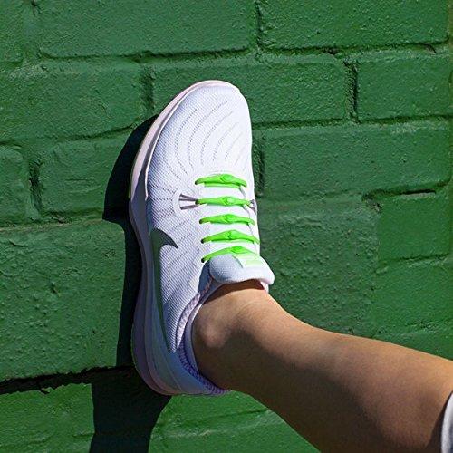 Lacci Adatti Performance Per Scarpe Pezzi Scarpa Allacciano Non 14 Ad Misura Elastici Lime Ogni Unica 0 Hickies 2 Si A6x4tt
