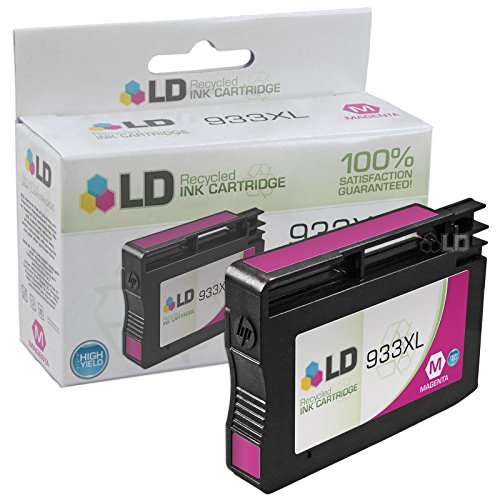 LD © Remanufactured Replacement for 933XL Set of 6 High Yield Ink Cartridges Includes: 2 Cyan CN054AN, 2 Magenta CN055AN, and 2 Yellow CN056AN for us in HP OfficeJet 6100, 6600, 6700, 7110 ePrinter, & 7610 Printers Photo #4