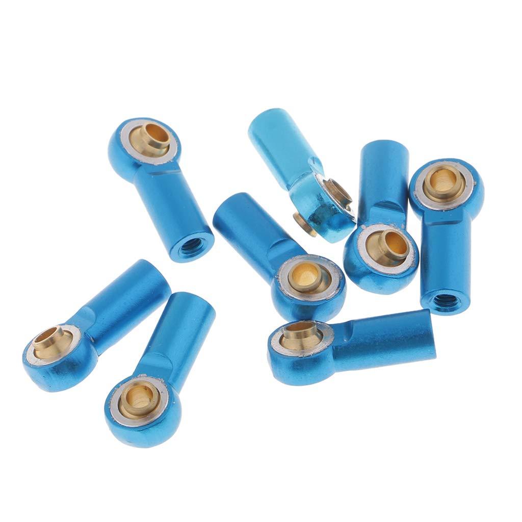 SM SunniMix M3 R/ótulas de Extremo de Varilla Barras de Acoplamiento para 1:10 RC Coches Azul