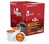 keurig coffee 120 - Folgers Gourmet Selections Coffee, Lively Colombian K-Cups, 120 Count Box