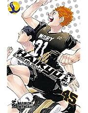 Haikyu!! Con mini-shikishi (Vol. 45)