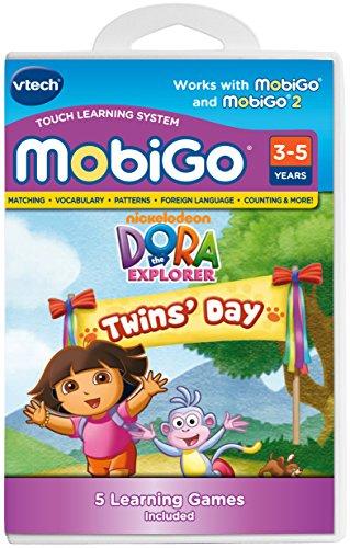 VTech - MobiGo Software - Dora the Explorer - Twins Day