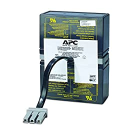 "APC UPS Battery Replacement for APC Back-UPS Models BR1000, BX1000, BN1050, BN1250, BR1200, BR500, BR800, BR900, BX1200, BX800, BX900 and select others (RBC32) 5 BUY ONLY GENUINE APC PRODUCTS! For genuine APC by Schneider Electric Products from the manufacturer, buy only if the product says ""Ships from and sold by Amazon.com"" Genuine APC replacement battery cartridges (RBC) are tested and certified for compatibility to restore UPS performance to the original specifications Includes all required connectors, Battery recycling guide, Installation guide, Reusable packaging. Battery mounting-Enclosed battery cabinet"
