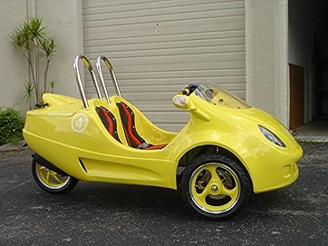 Amazon.com: NUEVO 49 cc Coupe Scoot – Patinete coche ...
