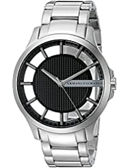 Armani Exchange Mens AX2179  Silver  Quartz Watch